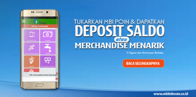PPOB MBI Telecom | Cara Penukaran MBI Poin