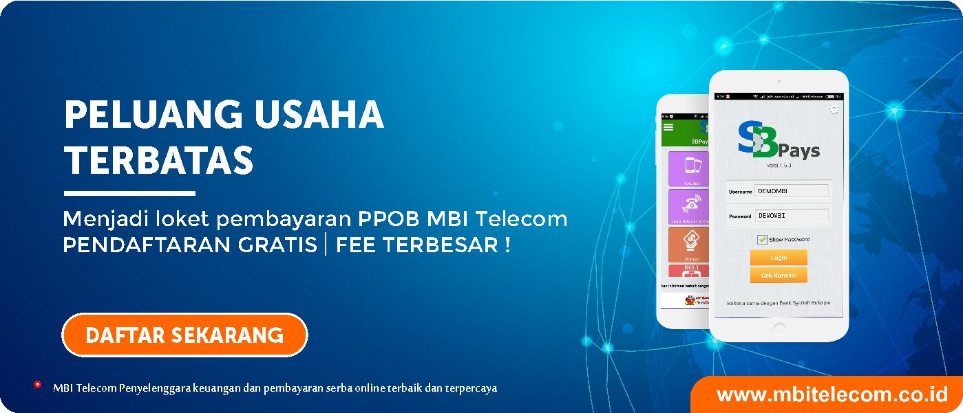 mbi-peluang-usaha-modal-ringan-ppob-mbi-telecom penyelenggara-ppob-terbaik-dan-terpercaya-fee-terbesar